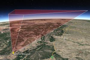 Meteor detector coverage